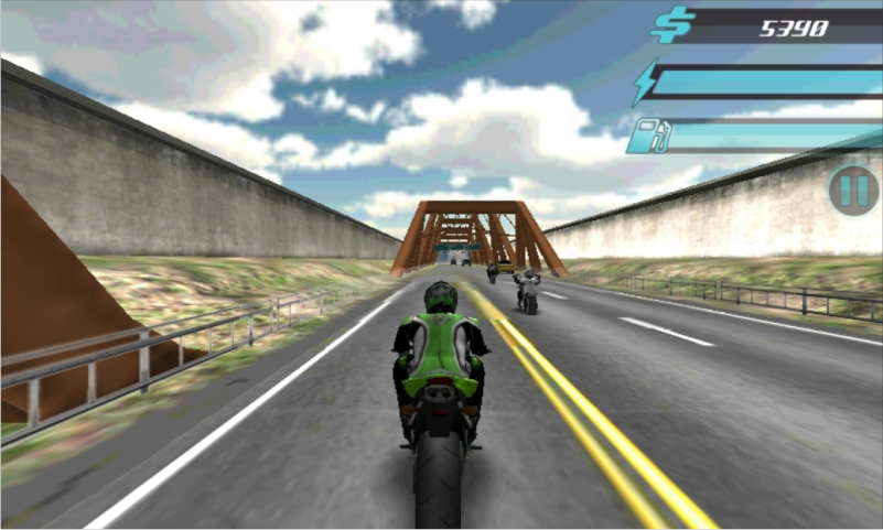 Asphalt Bikers FREE - screenshot