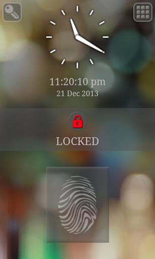 Screen Lock - with Fingerprint Simulator 8.6 screenshots 8