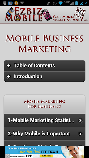 Mobile Business Marketing Free