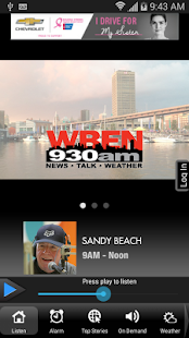 WBEN NewsRadio 930 AM/107.7 FM- screenshot thumbnail
