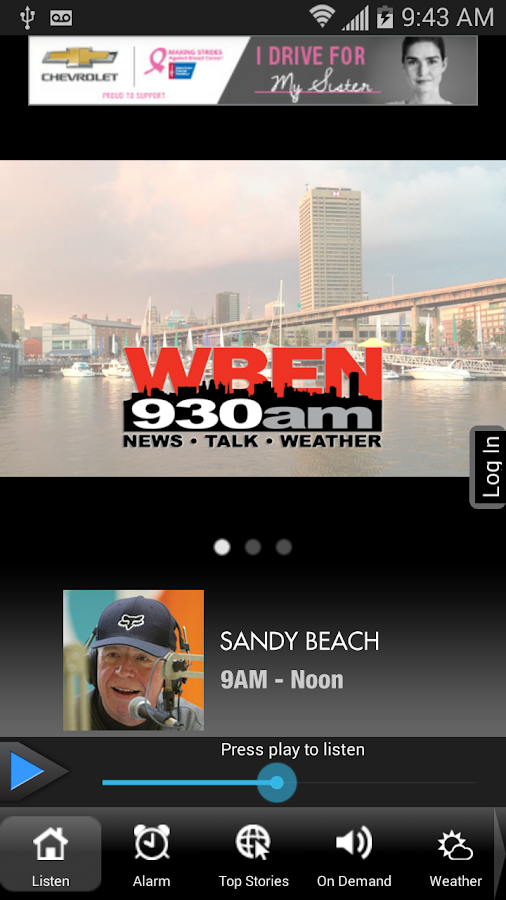 WBEN NewsRadio 930 AM/107.7 FM- screenshot