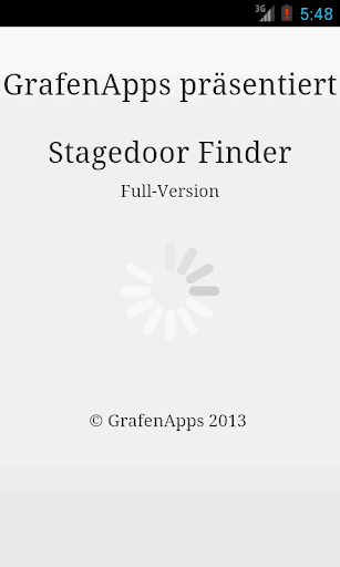 Stagedoor Finder