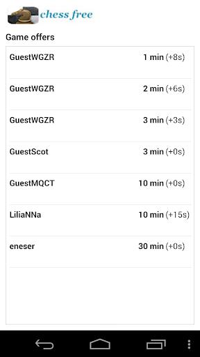 Chess Free (Offline/Online) 3.2 screenshots 5
