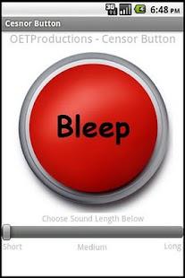 0 Censor (Bleep) Button App screenshot