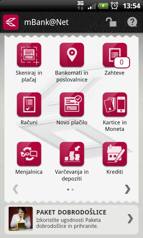 mBank@Net - screenshot