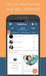 PublicFeed: Nearby Social News- screenshot thumbnail