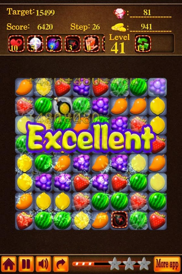 Fruit Saga- screenshot