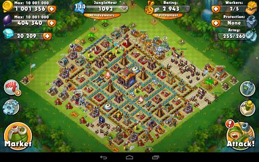 Jungle Heat: War of Clans 2.0.17 screenshots 12