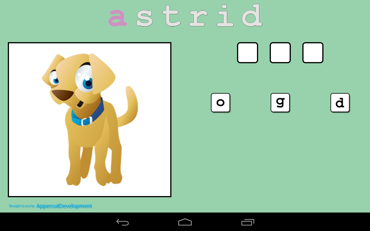 Astrid English- screenshot