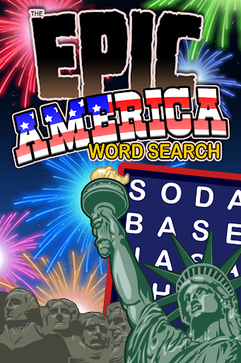 Epic America Word Search