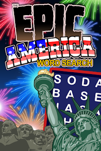 Epic America Word Search- screenshot thumbnail