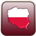 Map of Poland icon