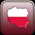 Map of Poland icon