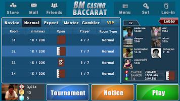 Screenshot of BM Casino Baccarat(百家乐)