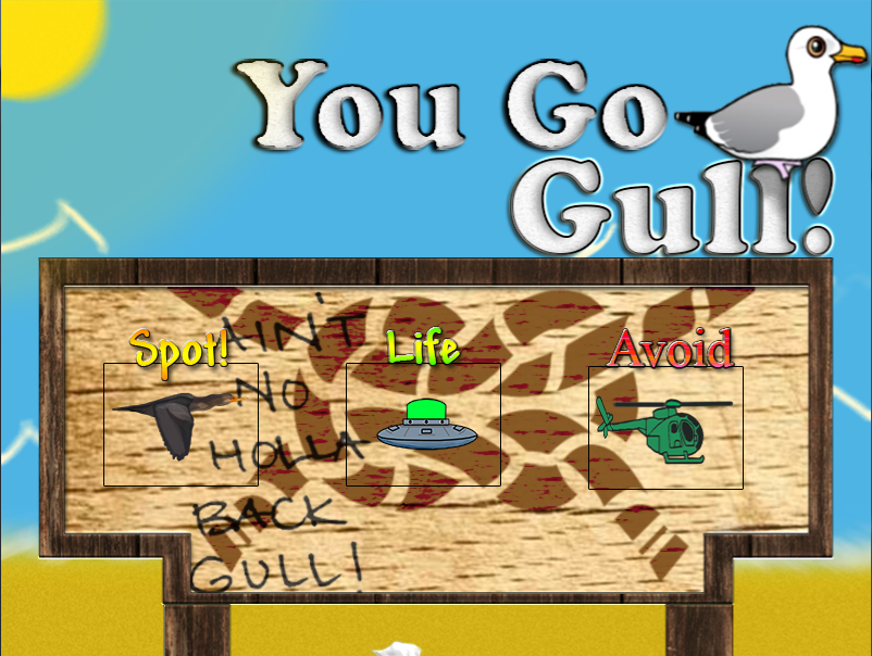 You Go Gull - screenshot