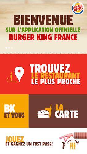 Burger King France Android App Screenshot