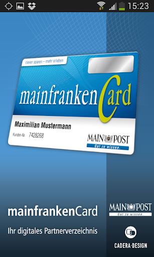 mainfrankencard