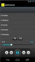 Screenshot of Holy Quran mp3 Abd Albasset
