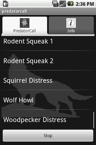 Predator Calls - screenshot