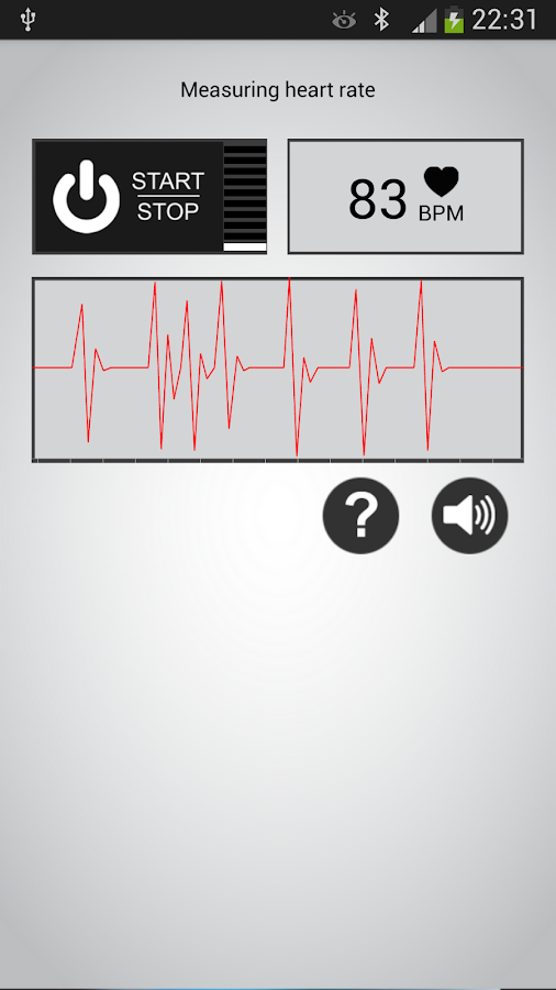 Heart Rate Monitor - screenshot