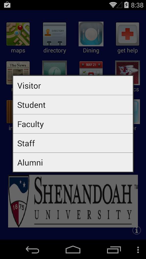 ShenandoahU - screenshot