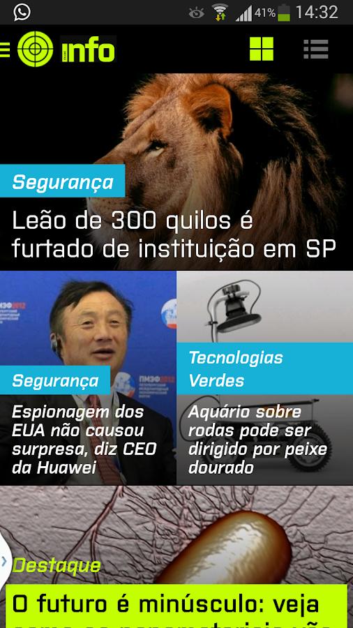 INFO Notícias - screenshot
