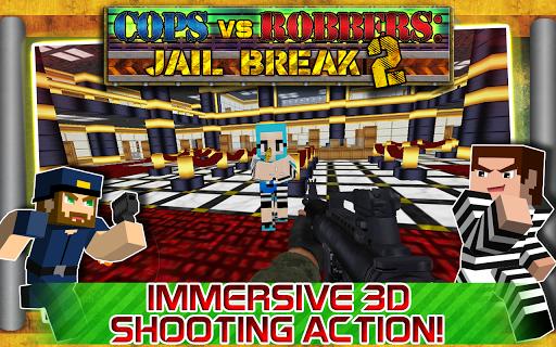 【免費動作App】警察VS強盜:越獄2-APP點子