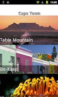 Screenshot of South Africa Travel Guide