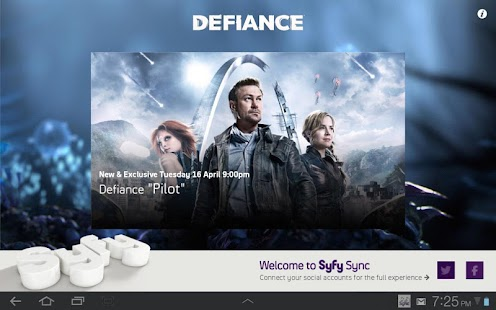 Syfy Sync UK - screenshot thumbnail