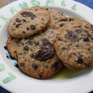 Chocolate and Almond Cookies Recipe
