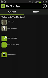The Marri App- screenshot thumbnail