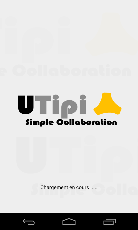 UTipi conference - screenshot