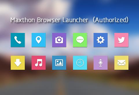 【免費個人化App】Maxthon-themed Launcher-APP點子