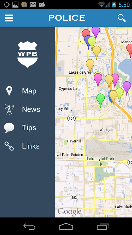 WPB Police - screenshot