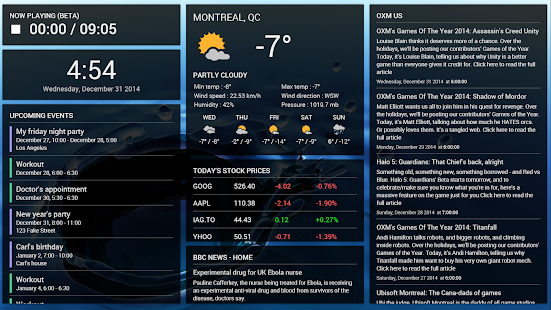 Dashboard Cast Screenshot