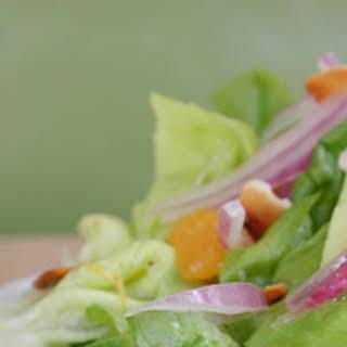 Butter Lettuce Sunshine Salad.