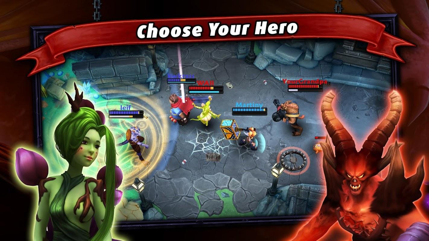 Heroes of SoulCraft - MOBA screenshots