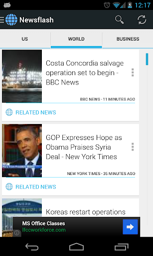 Newsflash - News Aggregator