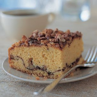 Easy Cinnamon-Walnut Coffee Cake