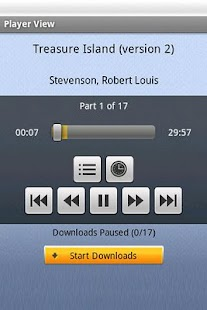 Audiobooks- screenshot thumbnail