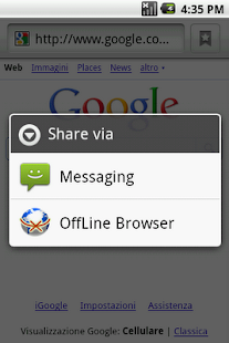 Offline Browser - screenshot thumbnail