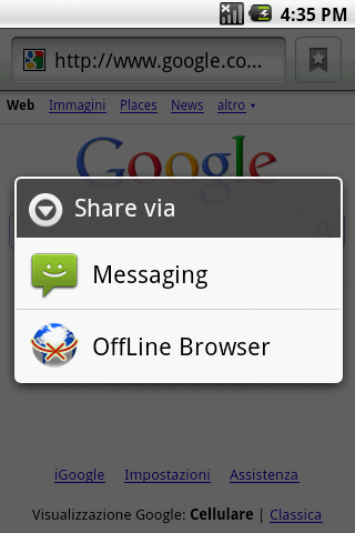 Offline Browser - screenshot