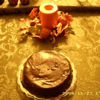 Chocolate Covered White Chocolate Cheesecake