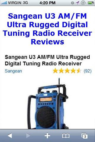 U3 Radio Receiver Reviews