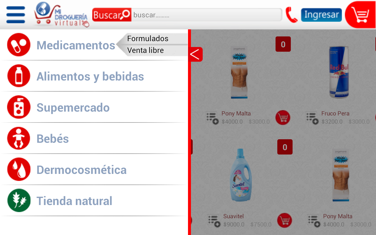 PuntoFarma Virtual- screenshot
