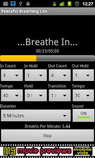 Peaceful Breathing Lite - screenshot thumbnail