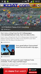 KOAT Balloon Fiesta Tracker - screenshot thumbnail