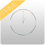 Ultra Thin Clock Widgets