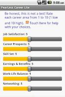 Screenshot of Your FearLess Career Lite
