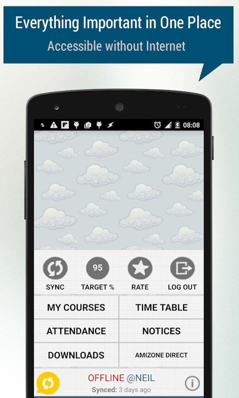 AMIZONER (for Amity Students)- screenshot